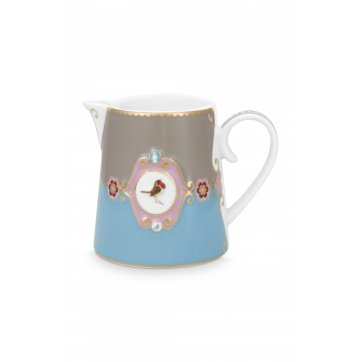 Pip Studio PIP STUDIO ΓΑΛΑΤΙΕΡΑ LOVE BIRDS MEDALLION BLUE-KHAKI 270ml