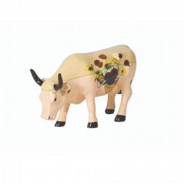 COW PARADE ΔΙΑΚΟΣΜΗΤΙΚΗ ΠΟΛΥΧΡΩΜΗ ΑΓΕΛΑΔΑ POLYRESIN COW PARADE VAN GOGH 10cm