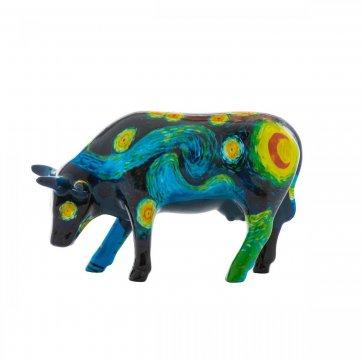 COW PARADE ΔΙΑΚΟΣΜΗΤΙΚΗ ΠΟΛΥΧΡΩΜΗ ΑΓΕΛΑΔΑ ΚΕΡΑΜΙΚΗ COW PARADE VINCENT'S COW 16,5cm