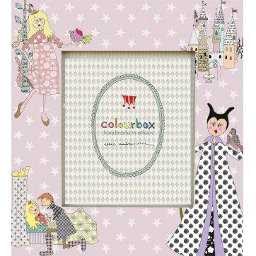 "Colourbox Kids ΞΥΛΙΝΗ ΠΑΙΔΙΚΗ ΚΟΡΝΙΖΑ ""Η ΩΡΑΙΑ ΚΟΙΜΩΜΕΝΗ"""